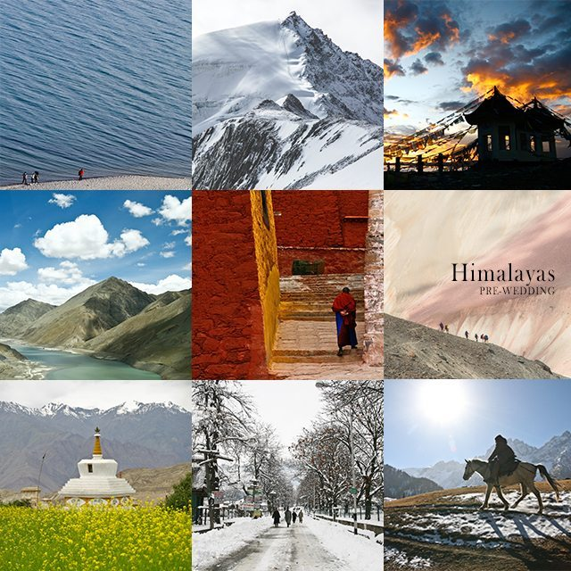 Himalayas Synchronal Photography Pre-Wedding