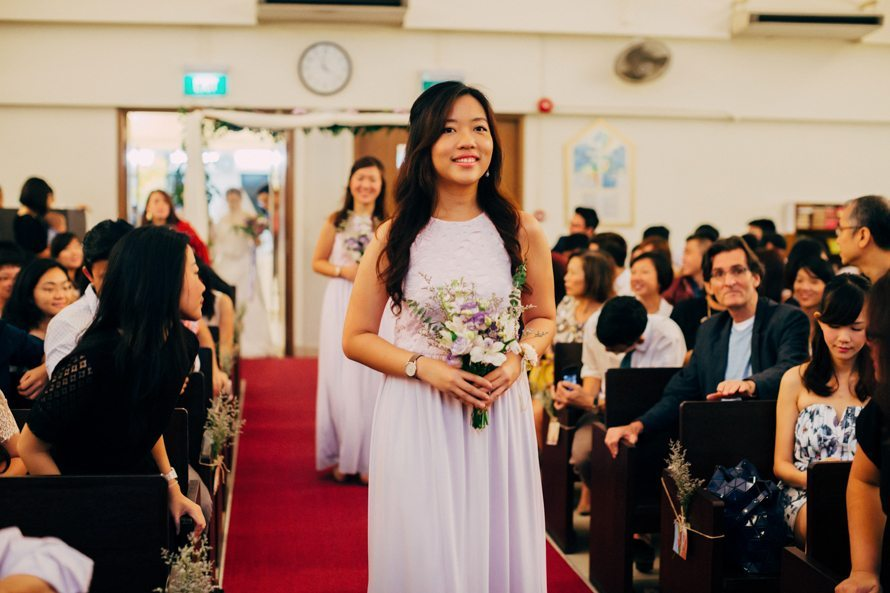 bedok lutheran church and swissotel singapore wedding photography