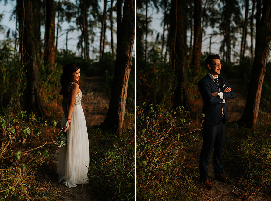 coney island sunrise singapore pre wedding photography