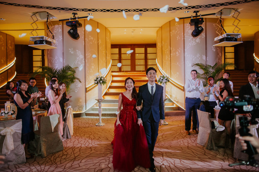teng siang cindy fullerton hotel singapore wedding photography