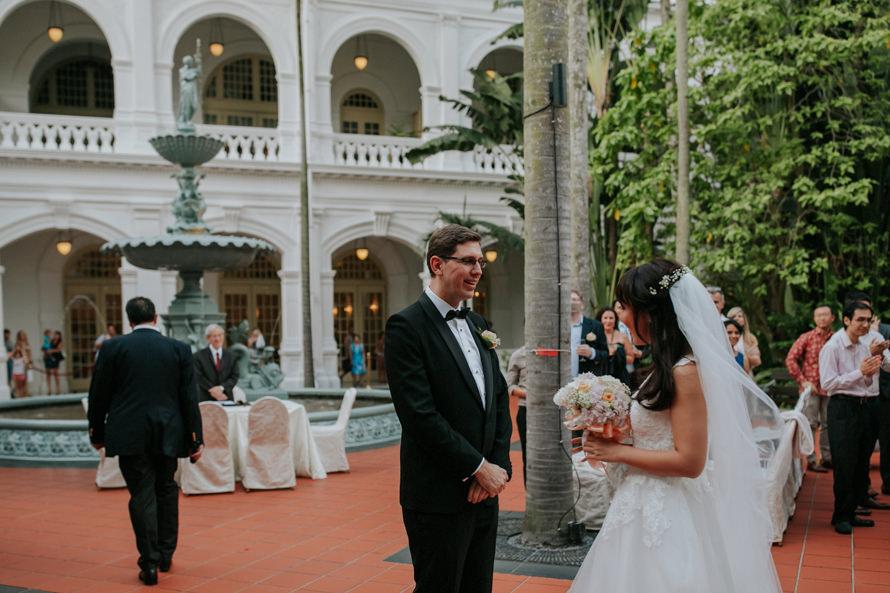Raffles Hotel Singapore Wedding Photography