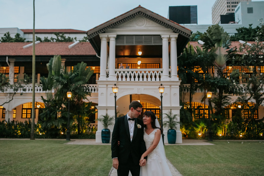 Raffles Hotel Singapore Wedding Photography