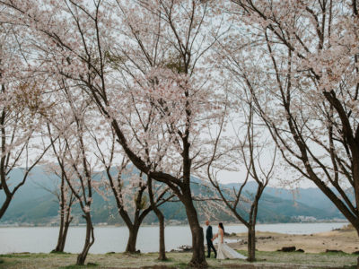 Justin + Ling Zhi // Mount Fuji Road Trip Pre Wedding