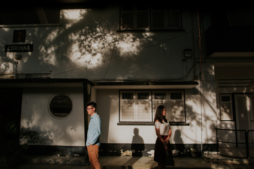 Portsdown Road Singapore Pre Wedding Photography
