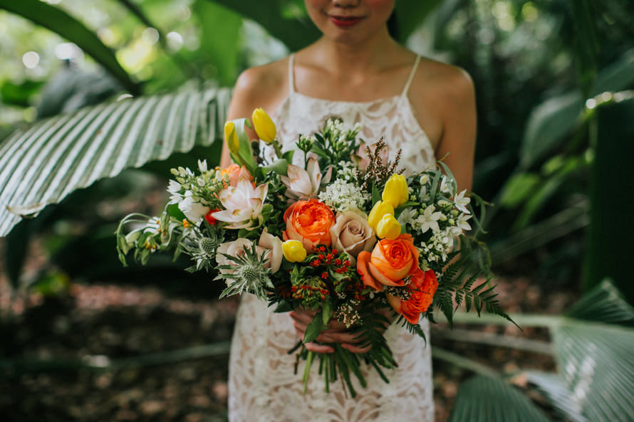 Singapore Botanic Gardens Singapore Wedding Photography