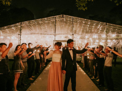 Joshua + Rachel // Fort Canning Park Tentage Wedding