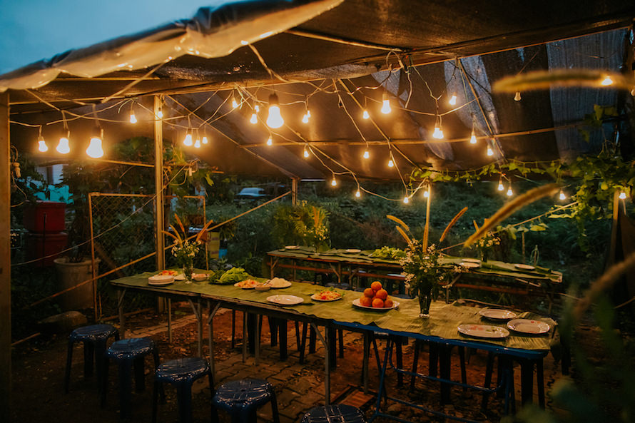 Intimate Backyard Wedding Singapore Wedding Photographer