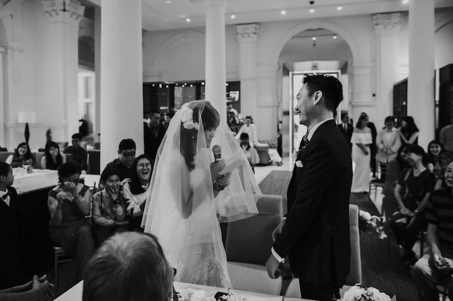 Sinfonia Ristorante Singapore Wedding Photography