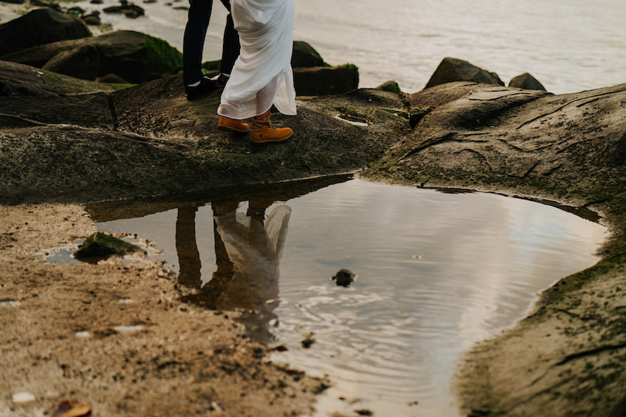 Pulau Ubin Singapore Prewedding Photography