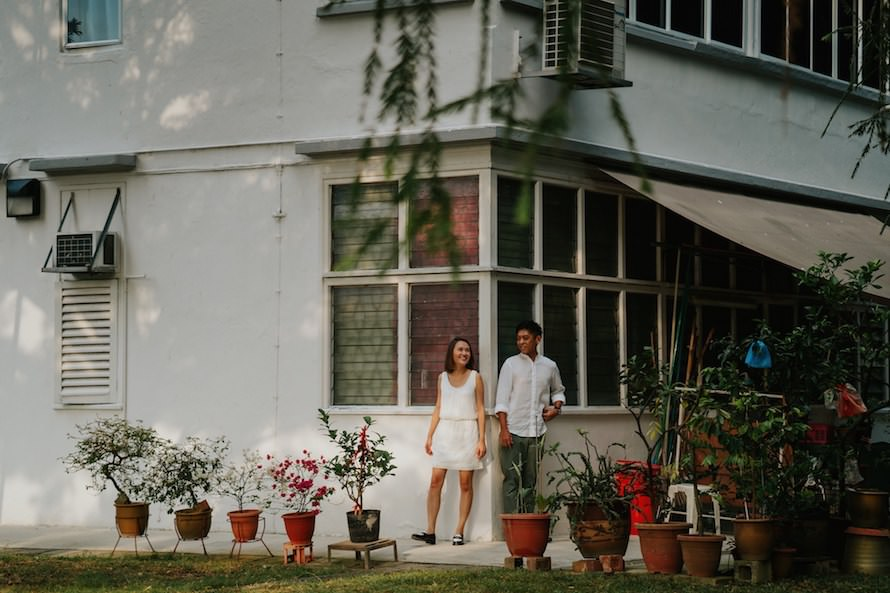 Tiong Bahru Estate Singapore Prewedding Photography