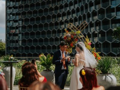 Brian + Sharyn // Andaz Garden Studio Wedding
