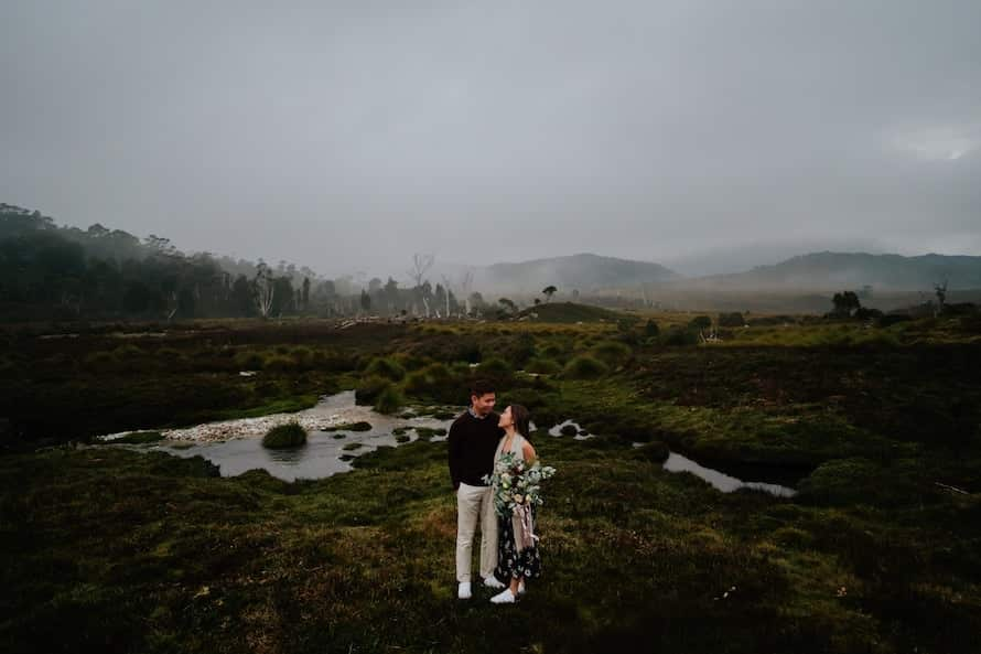 Cradle Mountain Prewedding Photography