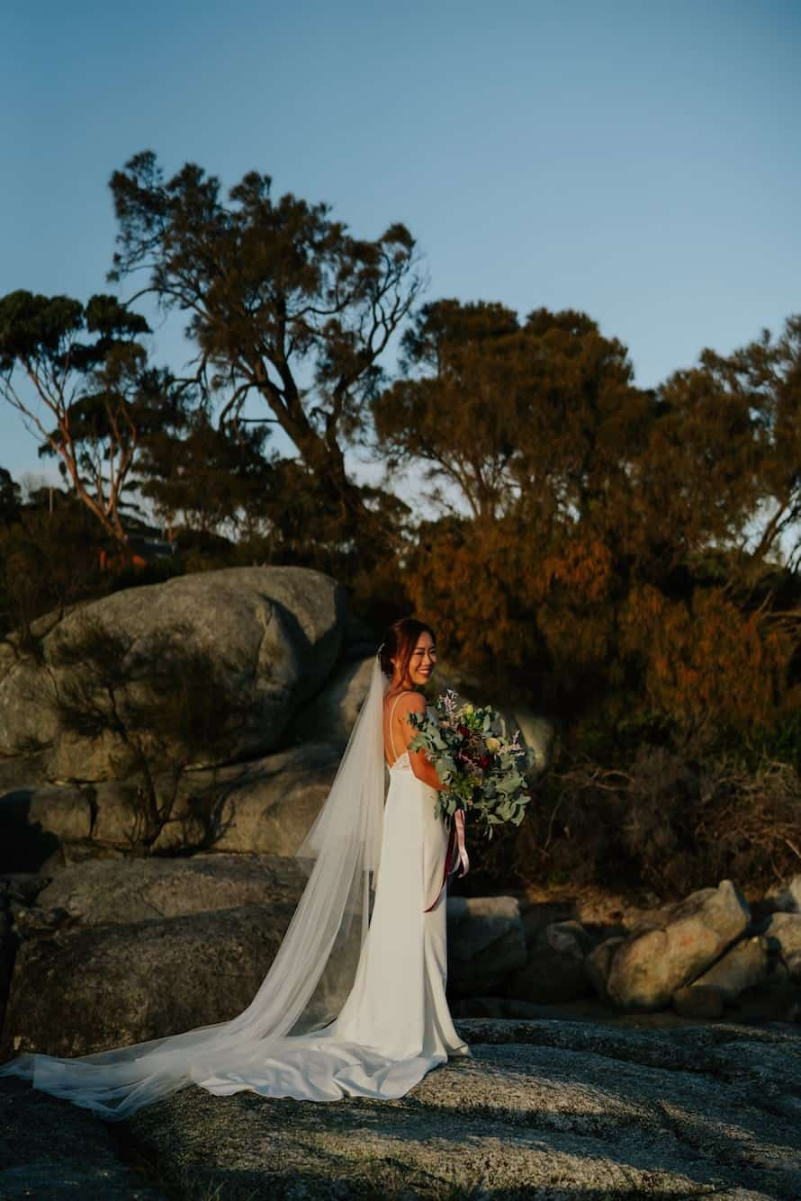 Tasmania Bay Of Fires Prewedding Photography
