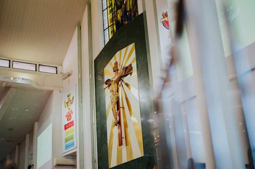 Chuch Of Our Lady Of Perpetual Succour Singapore Wedding Photography
