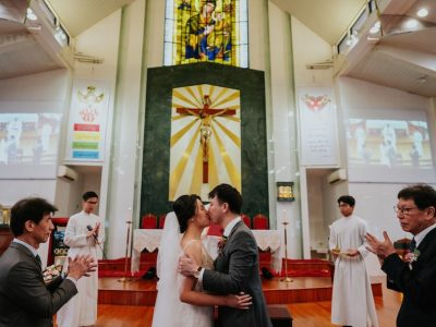 Jan + Bridget // Church of Our Lady of Perpetual Succour Wedding