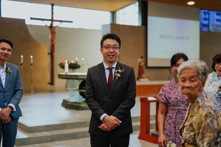 Church of St Ignatius Singapore Wedding