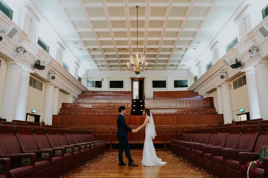 The Arts House Singapore Wedding Photography